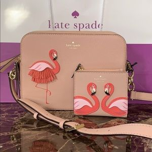 Kate spade flamingo collection by the pool